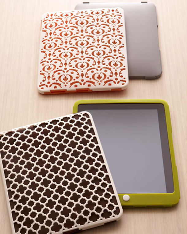Silicone iPad Case Get creative with the Mix n match iPad case set