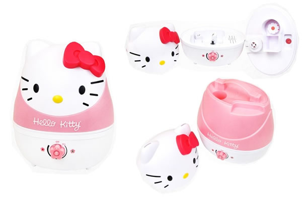 Hello Kitty Cool Mist Humidifier 1 Hello Kitty Cool Mist Humidifier refreshes you