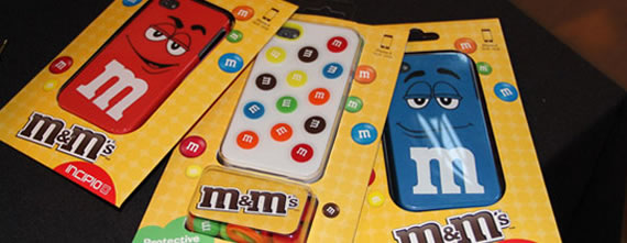 MM iPhone 4 Cases 1 The M&M iPhone, iPod Touch Cases are Yummy Looking