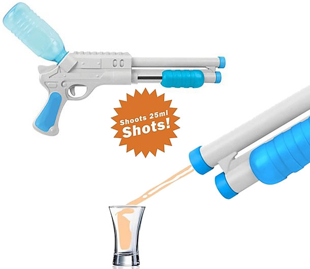 Luckies Shot Gun Drink Dispenser