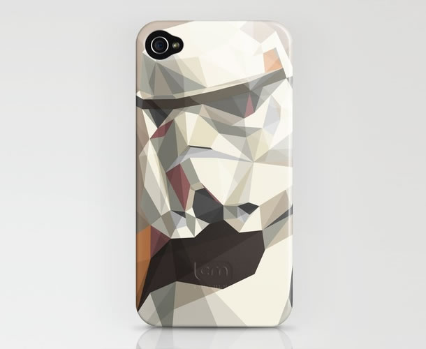 Stormtrooper iPhone case Stormtrooper makes an artistic appearance on the iPhone Case