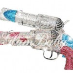Swarovski Crystal Bling pistol hair dryer 1 150x150 Mind blowing: Swarovski Crystal Bling pistol hair dryer