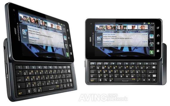Самый тонкий телефон в мире с QWERTY - клавиатурой