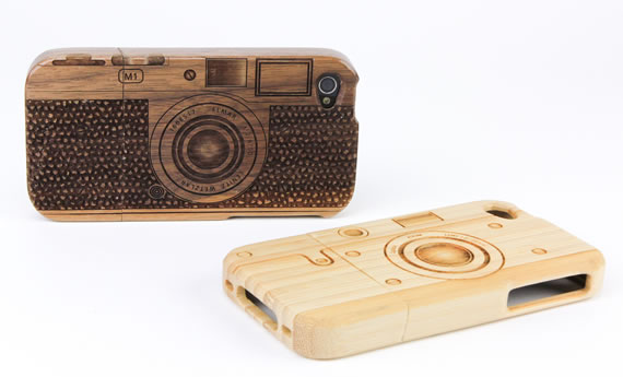 Wood Camera iPhone 4 Case 1 Wood Camera iPhone 4 Case for shutterbugs
