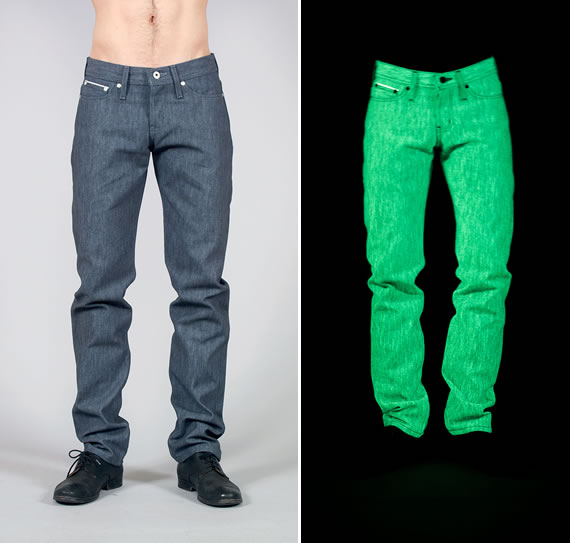 glow in the dark jeans 1 Stand out with glow in the dark jeans