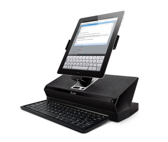 iLuv iMM737 WorkStation The iLuv Workstations provide you a mobile computing experience