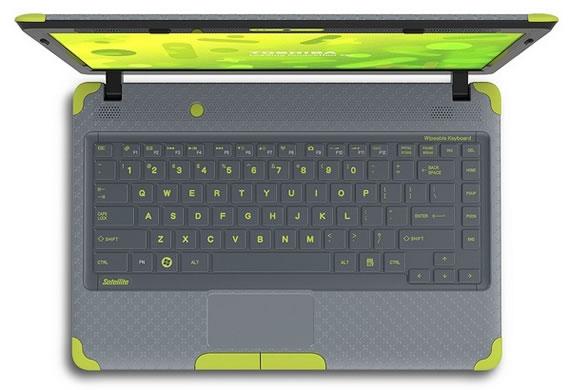 Toshiba представляет ноутбук для малышей!
