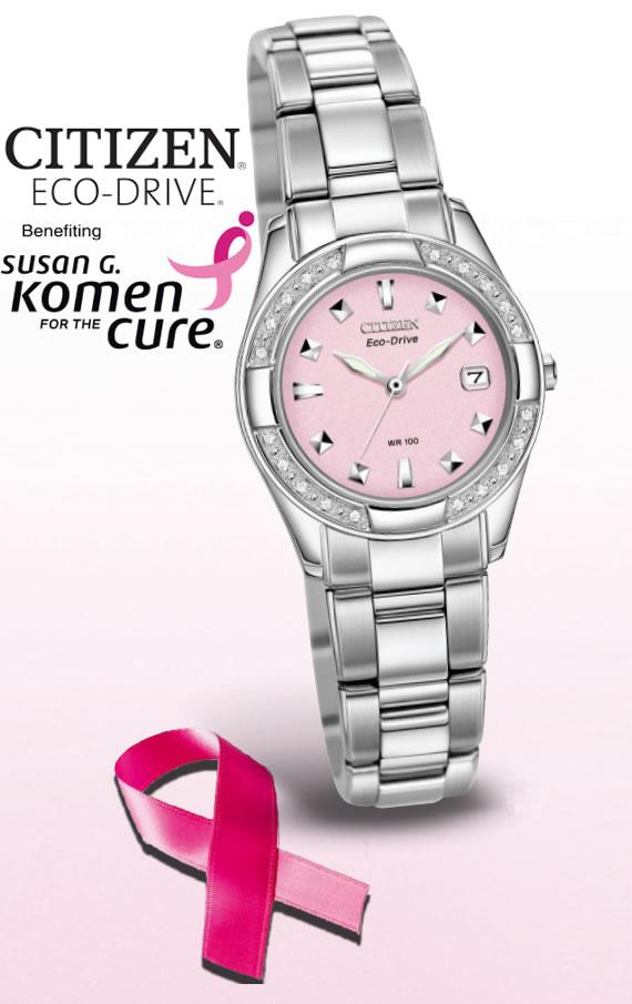 Amazoncom: pink breast cancer watch