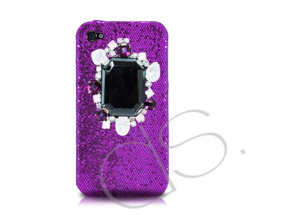 Чехол для iPhone 4S в кристаллах ослепит своей красотой!
