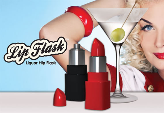 Lip Hip Flask 1 Lip Hip Flask is trendy