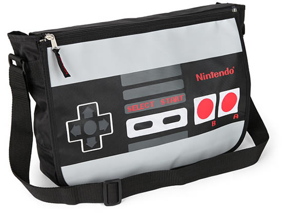 Nintendo Reversible Messenger Bag Nintendo Reversible Messenger Bag looks super cool and geeky