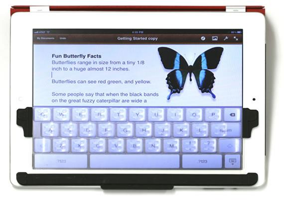 Прозрачная клавиатура для iPad