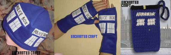 TarDIS Police Box accessories TarDIS style Police Box accessories are funky and cool