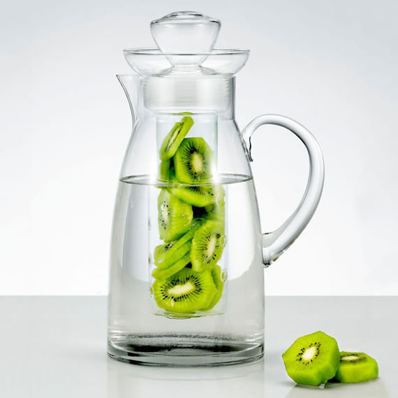Artland Sedona Glass Pitcher 1 Artland Sedona Glass Pitcher with Flavor Infuser makes a delightful drink