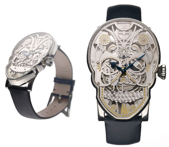 Memento Mori timepieces 1 Fiona Krüger's Mexican inspired, incredible 'Memento Mori' timepieces