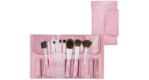 Get the Sephora Collection 'Perfect Pink' Brush Set for a quick makeover.