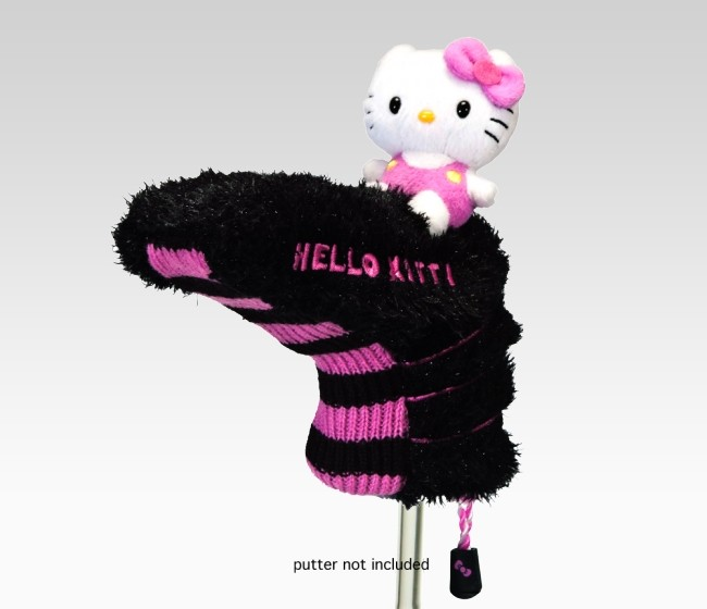 hello kitty golf The Hello Kitty Putter Head Covers make golfing fashionable