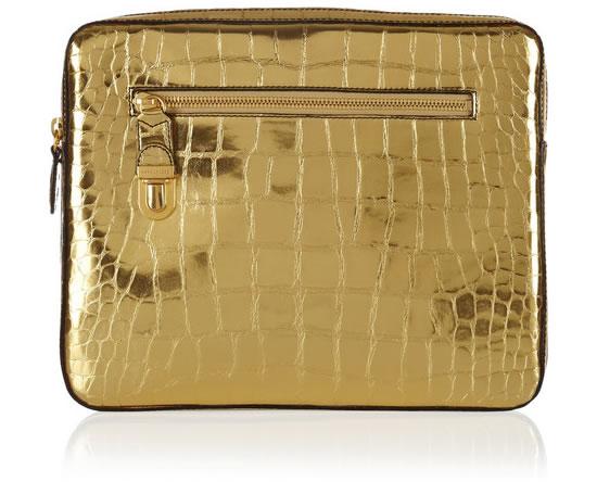 Золотистый чехол для IPad от Marc Jacobs