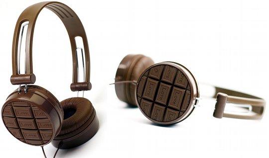 Шоколадные наушники - лучший антидепрессант!