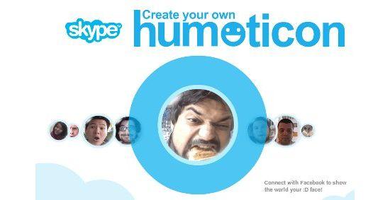 Skype запускает человеческие смайлики!