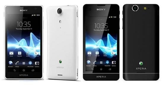 Sony Xperia SX и GX Xperia - самые легкие в мире LTE смартфонов