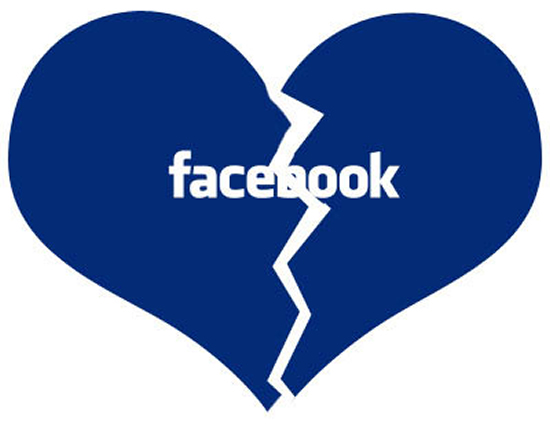 Facebook разбил 33% пар