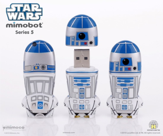 r2 d2 mimobot 1 The R2 D2 MIMOBOT USB Flash Drive