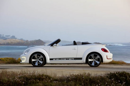 Электромобиль-кабриолет от Volkswagen