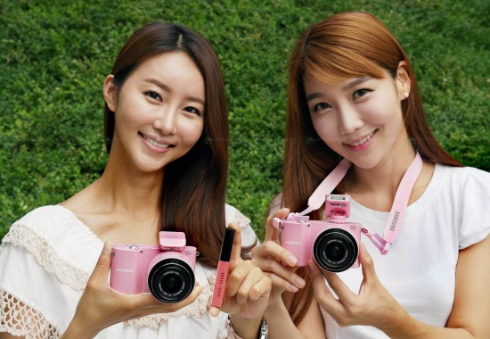 samsung smart camera 1 550x380 Samsung collaborates with Bobbi Brown to release its Smart Camera NX1000