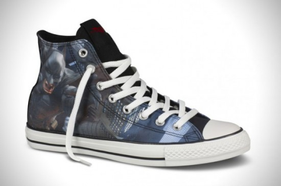 star collection 2 550x365 Pimp it up with the Converse The Dark Knight Rises shoe collection