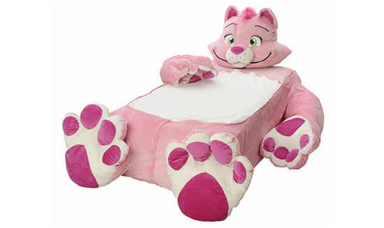 cat bed 1 The Incredibeds Pinky Petunia Kitty Cat Twin Bed
