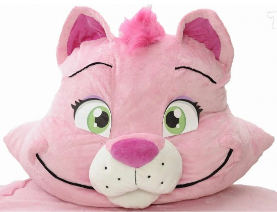 cat bed 4 550x422 The Incredibeds Pinky Petunia Kitty Cat Twin Bed