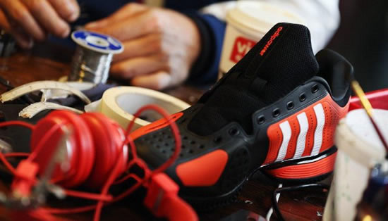 social media shoe Athletes could be tweeting on court in 2016 with the Social Media Shoe