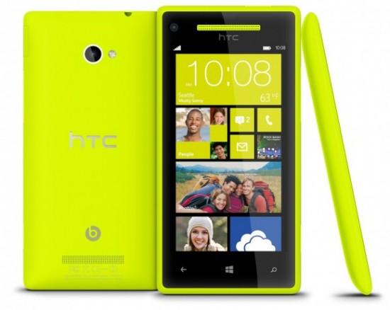 HTC представляет телефоны на Windows Phone