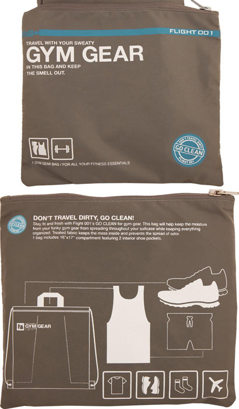travel organizer bags The Go Clean Pack Bags make travel packing a piece of cake