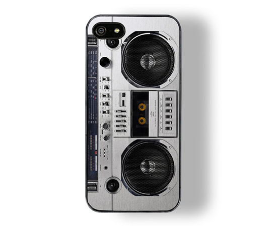 boombox iPhone 5 Boombox Case is a groovy accessory