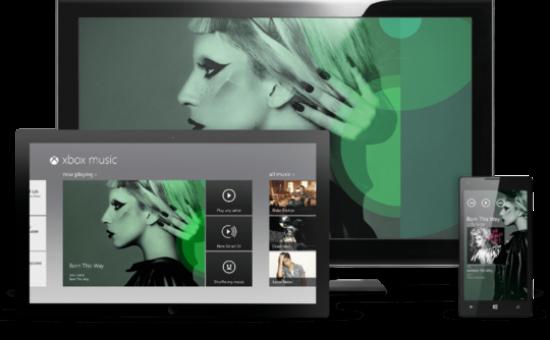 Microsoft запустила сервис Xbox Music