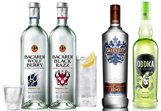 flavored vodka Weird liquor pairings that will make your head spin in all the wrong ways