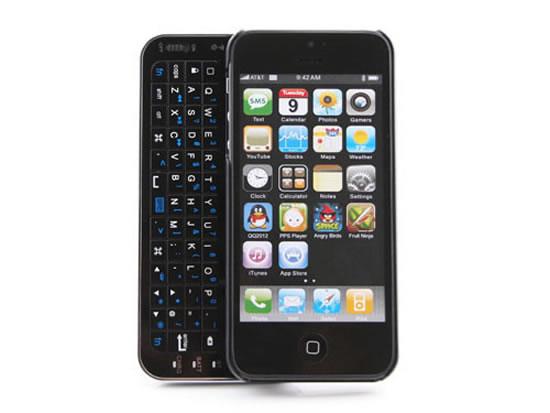 Чехол для iPhone 5 с выдвижной клавиатурой