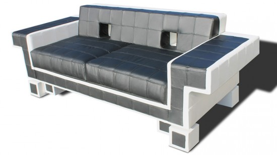 space invaders sofa 11 550x309 Igor Chak's Space Invader Couch oozes Comfort