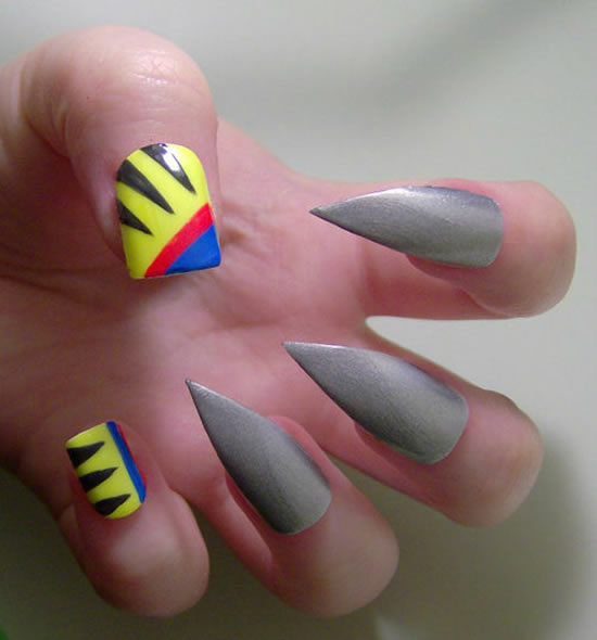 Wolverine nail art has us shivering inside