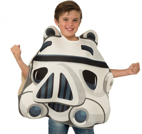 81sSLbI8T6L. SL1500  550x519 The Child Stormtrooper Angry Birds Costume: Don't you want to be Darth Vader's personal pig