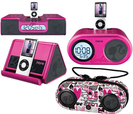 Barbie iHome Speakers Barbie iHome Speakers are cute in pink