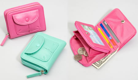 Candy Mini Wallets 1 Candy Mini Wallets are colorful and fun