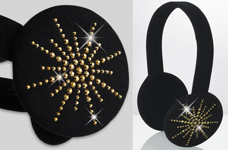 Crystal Star Earmuffs Crystal Star Earmuffs give your ears a warm and rich look