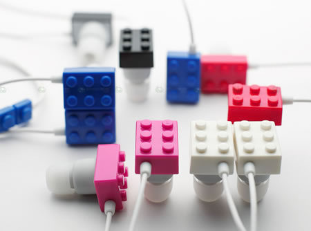 Elecom LEGO headphones Elecom LEGO brick headphones are super cute