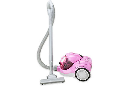 Hello Kitty vacuum cleaner 1 Hello Kitty vacuum cleaner cyclone comes clean
