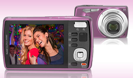 Kodak Easyshare M580 Kodak Easyshare M580 digital camera is perfect for novices