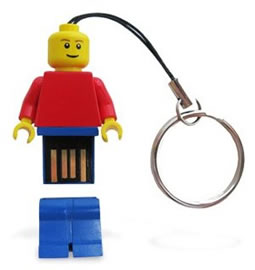 LEGO USB drives The Official LEGO Minifigure USB drives are Coming your Way
