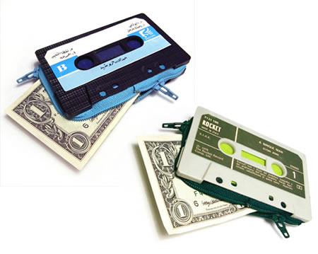 New Cassette Wallet1 New Cassette Wallet reminds you of the mixed tapes era